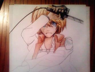 Armin progress by DoreiShounen