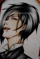 Sebastian Michaelis (Black Butler) by DoreiShounen