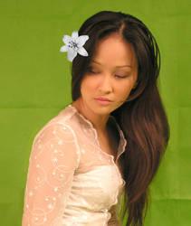 Girl in Kebaya - 1st Stock by AsiaStock