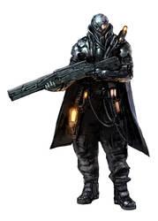 warrior concept by DarkEnter