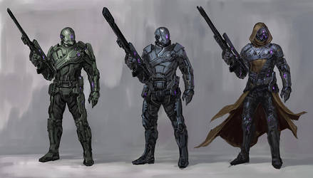 snipers by DarkEnter