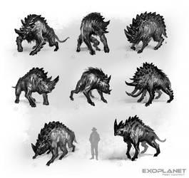 alien creature by DarkEnter