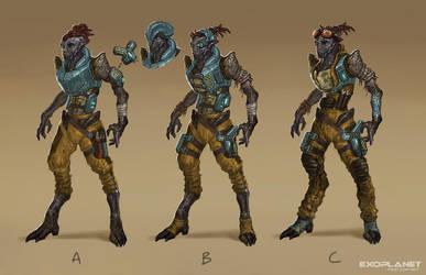 alien workers by DarkEnter