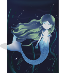 Mermaid by makysweetirl