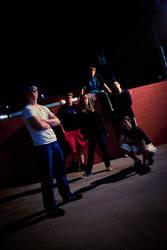 Social Contradiction Band Shot by JamesBensonArt