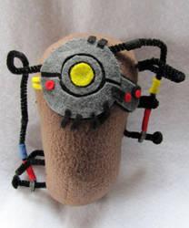 Potato GLaDOS Plushie by NocturnalEquine