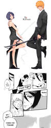 Mr. and Mrs. Kurosaki by dawntwilight