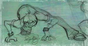 Toddles sketch by idgiebay