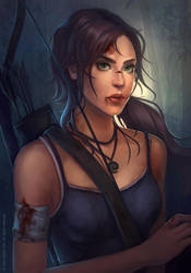 Tombraider by sniftpiglet