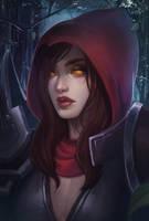 Demon Hunter - Valla by sniftpiglet