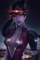 Overwatch Widowmaker by sniftpiglet