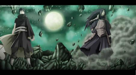 Naruto 600: Obito Uchiha and Madara Uchiha by LiderAlianzaShinobi