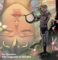Zelda and Sheik by Sui-yumeshima