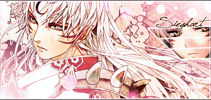 Another signature of Sesshomaru by SieghartXx