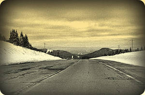 Gloomy Road In April by surrealistic-gloom