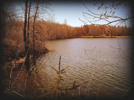 By The Lake, Early Spring by surrealistic-gloom