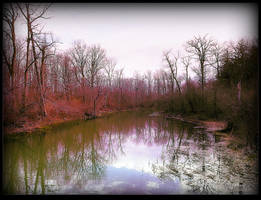 Lazy Stream in Spring by surrealistic-gloom