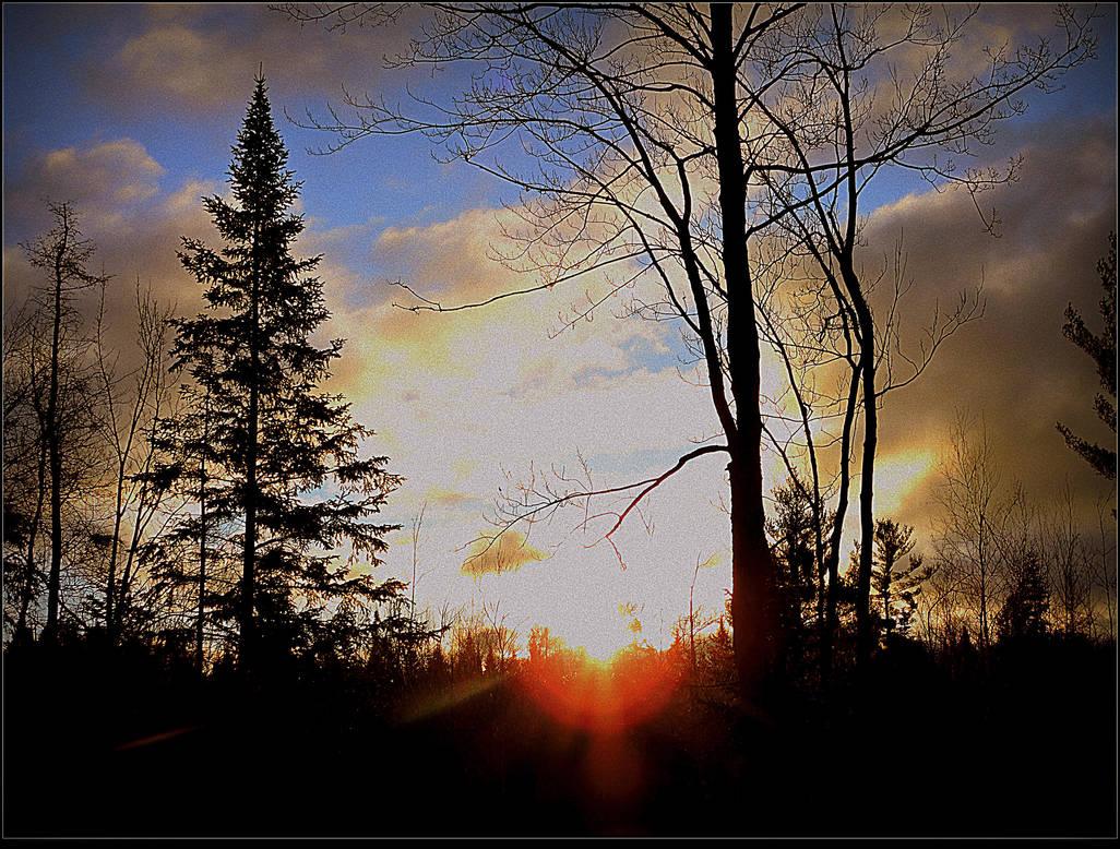 Dramatic Sunrise by surrealistic-gloom