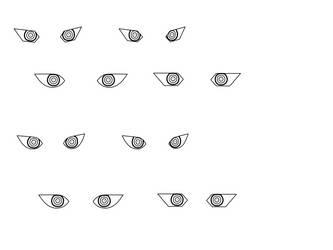 BlueSteel's Mechanic Characters' Eyes Studies by 0222GraphicDesigner