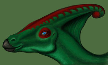Parasaurolo-face by squeakychewtoy