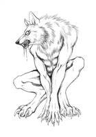 Werewolf Inks by squeakychewtoy