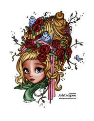 Spring Maid - By Jadedragonne-d8 by Ninie