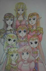 Hylia's descendants by aggieandco