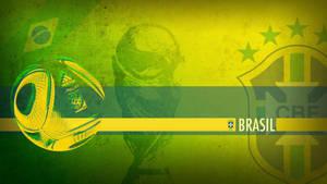 Brazil WC2010 Wallpaper by Yabbus23