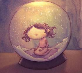 Lonesome Globe by SaintMaria666