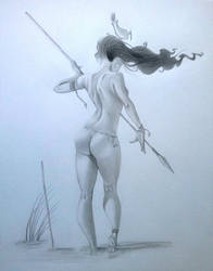 Fisherwoman (duplication / Loopydave) by MechantPP