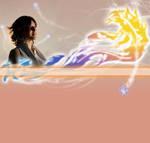 Yuna by Paper-stars by vickybunnyangel