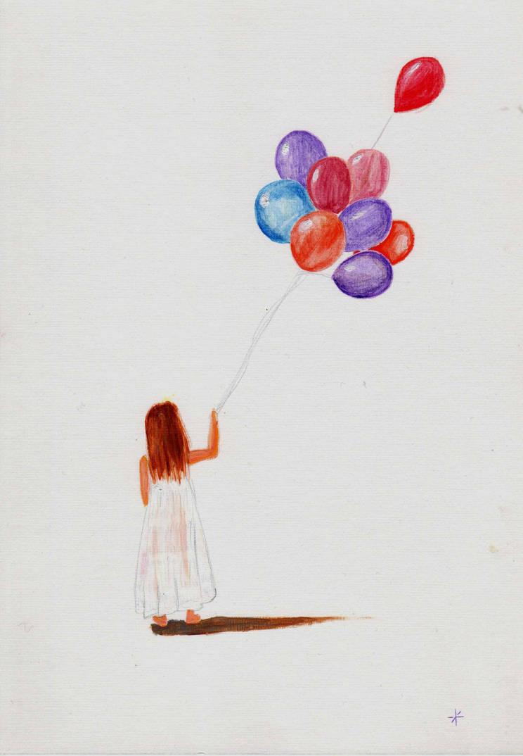 Birthday balloons by azeemb