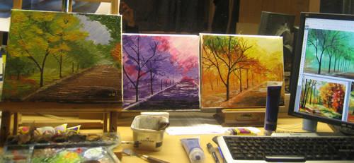 Seasons by azeemb