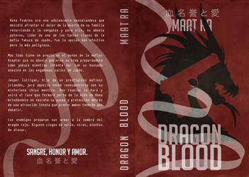 Dragon Blood - BookJacket by RiuDiAngelo