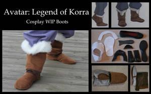 Avatar: Legend of Korra WIP by ScissorWizardCosplay