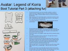 Avatar: Legend of Korra Boot Tutorial (pt. 3) by ScissorWizardCosplay