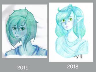 Improvement 2015 vs 2018: Crysalium by Choi-Lu