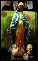 Figuras -Santa Muerte- by hielo001