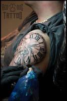 Tattooing Matt by Reddogtattoo