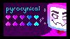 Pyrocynical Stamp - F2U by qu33n-bee