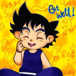 Dragon Ball: Eat Well by herakushi