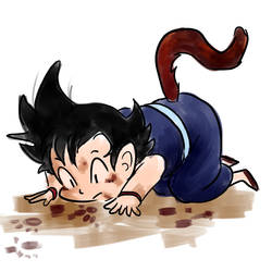 Dragon Ball: GIVE HIM A BATH by herakushi