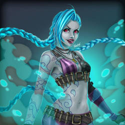 Get Jixed - Jinx League of Legends by karulox