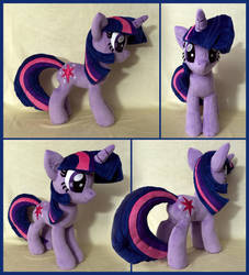 Twilight Sparkle Plush .: SOLD :. by AlicornParty