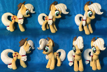 Applejack Plush .: SOLD :. by AlicornParty