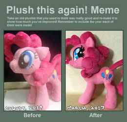 Plush This Again - Pinkie Pie by AlicornParty