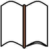 Sketched Book (ClipArt) by CustomArtDesigner