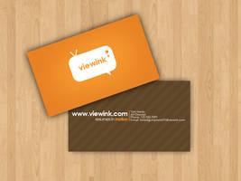 viewink business card by Rashanka
