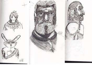 Various pen doodles by smarticusws