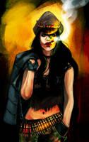 :Commission: Stella Black by KrasnyZmeya